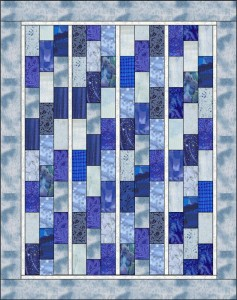 Blue Bricks Quilt