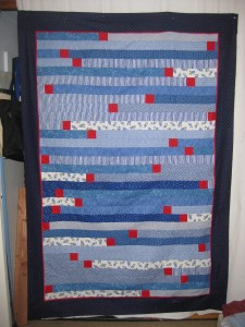IMG 0792 225x300 Jelly Roll Race (1600) Quilt