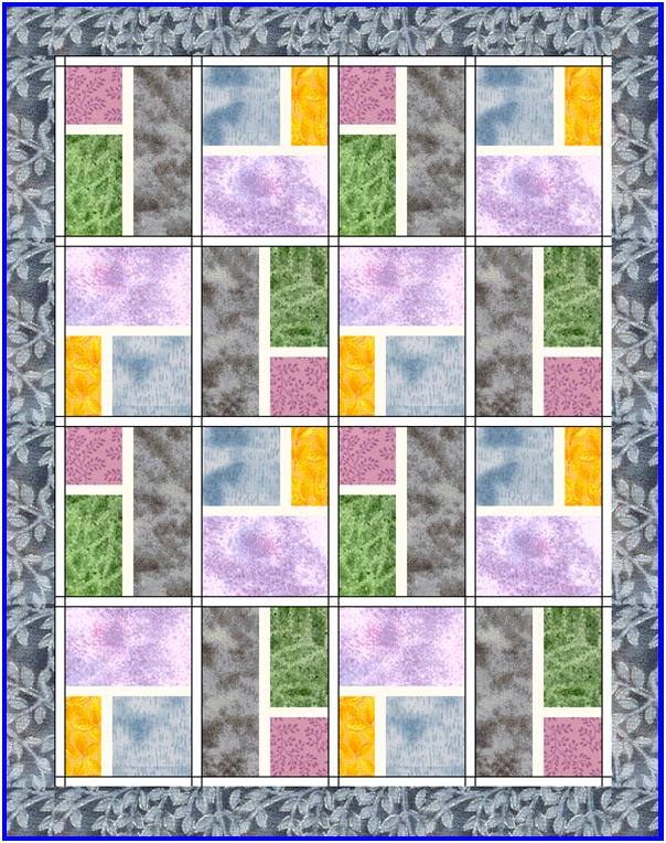 Free Quilt Patterns And Blocks : Modern City Blocks Quilt - Lyn Brown s Quilting Blog