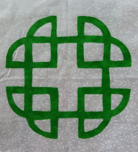 Quilter s Alphabet Block of the Week: Kelly Celtic Knot - Lyn Brown s Quilting Blog