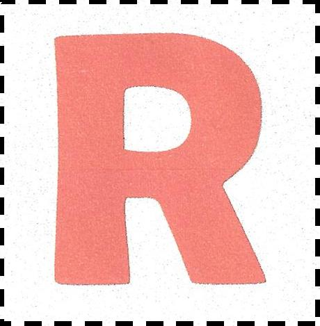 R Alphabet Name The R is presented in reverse for fusers. If you are hand appliquing ...