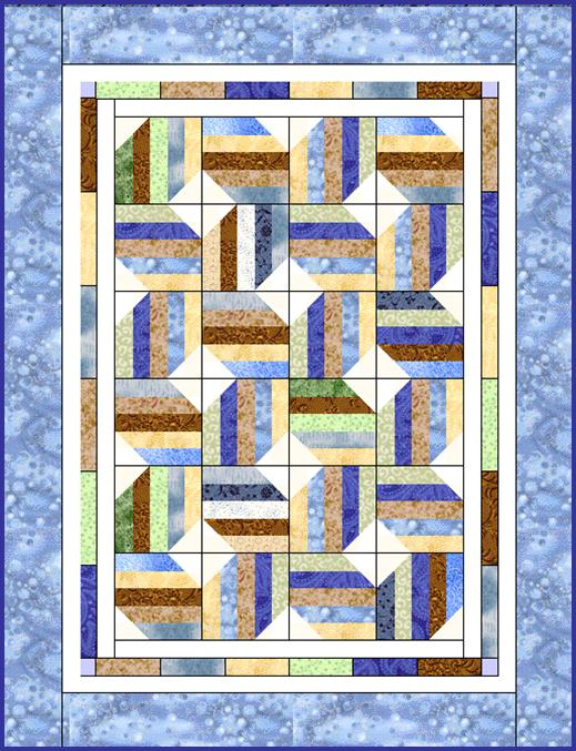 Moondance Jelly Roll Quilt Pattern Lyn Browns Quilting Blog