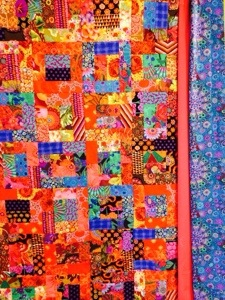 20131229 203110 Solana Beach Jelly Roll Bali Pop Quilt Pattern