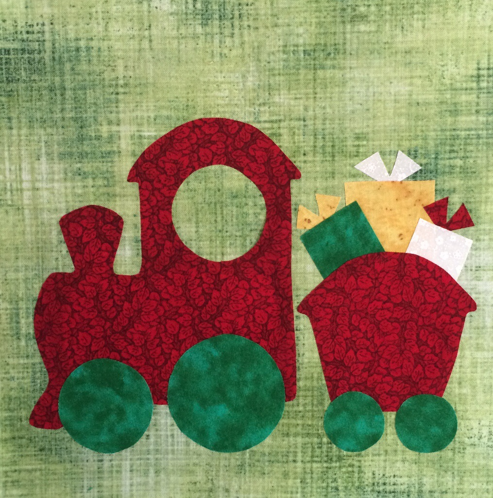 20140716 170755 61675551 Do You See Christmas Quilt Block Of The Week   Santas Train