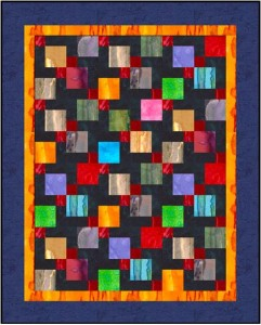 Magic 9 Doll Quilt 241x300 Woohoo! August Christmas Ornament: Baby Block