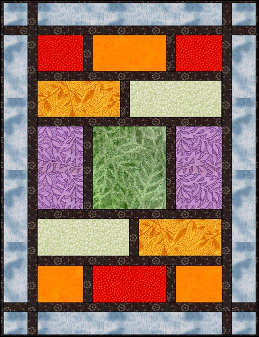 Simple Modern Quilt Patterns Free : Phat Fats: A Modern Fat Quarter Quilt - Lyn Brown s Quilting Blog