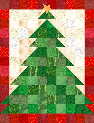 Christmas Tree Quilt Pattern Now Available Lyn Brown S Quilting Blog