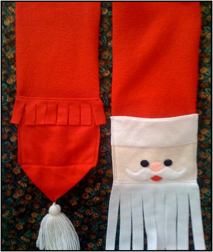 Free Santa Scarf Pattern For A Limited Time Only Lyn Browns