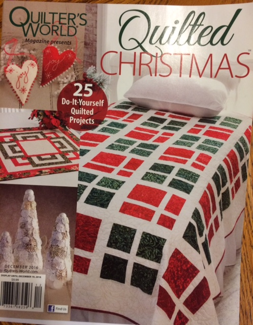 Quilted Christmas... A New Annie's Publication! And Check Out That ... : quilt it for christmas magazine - Adamdwight.com