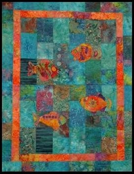 Quilt A Fish Pattern Available On Etsy Lyn Brown S