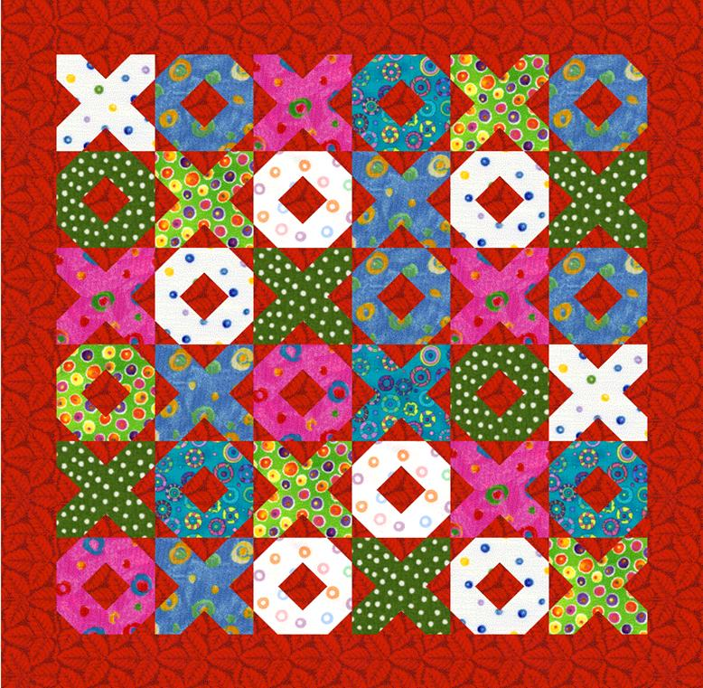 Hugs And Kisses Scrap Quilt Lyn Brown S Quilting Blog